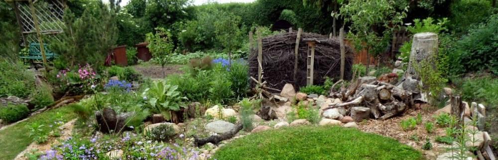 Der Drei-Zonen-Garten