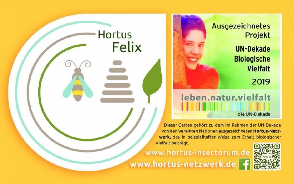 """UN-Dekade – """"Hortus-Netzwerk. Vielfalt. Schönheit. Nutzen."""" zum Projekt des Monats gewählt"""