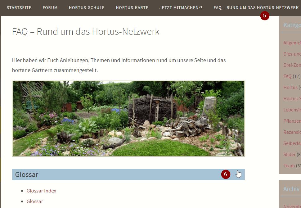 You are currently viewing Hortus-Netzwerk jetzt mit Glossar