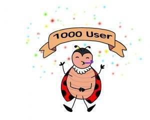 Wir freuen uns über 1000 registrierte Benutzer auf Hortus-Netzwerk.de