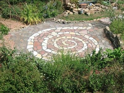 Spirituelle Gartenführung