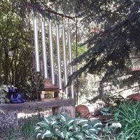 Klangspiel im Unterholz.