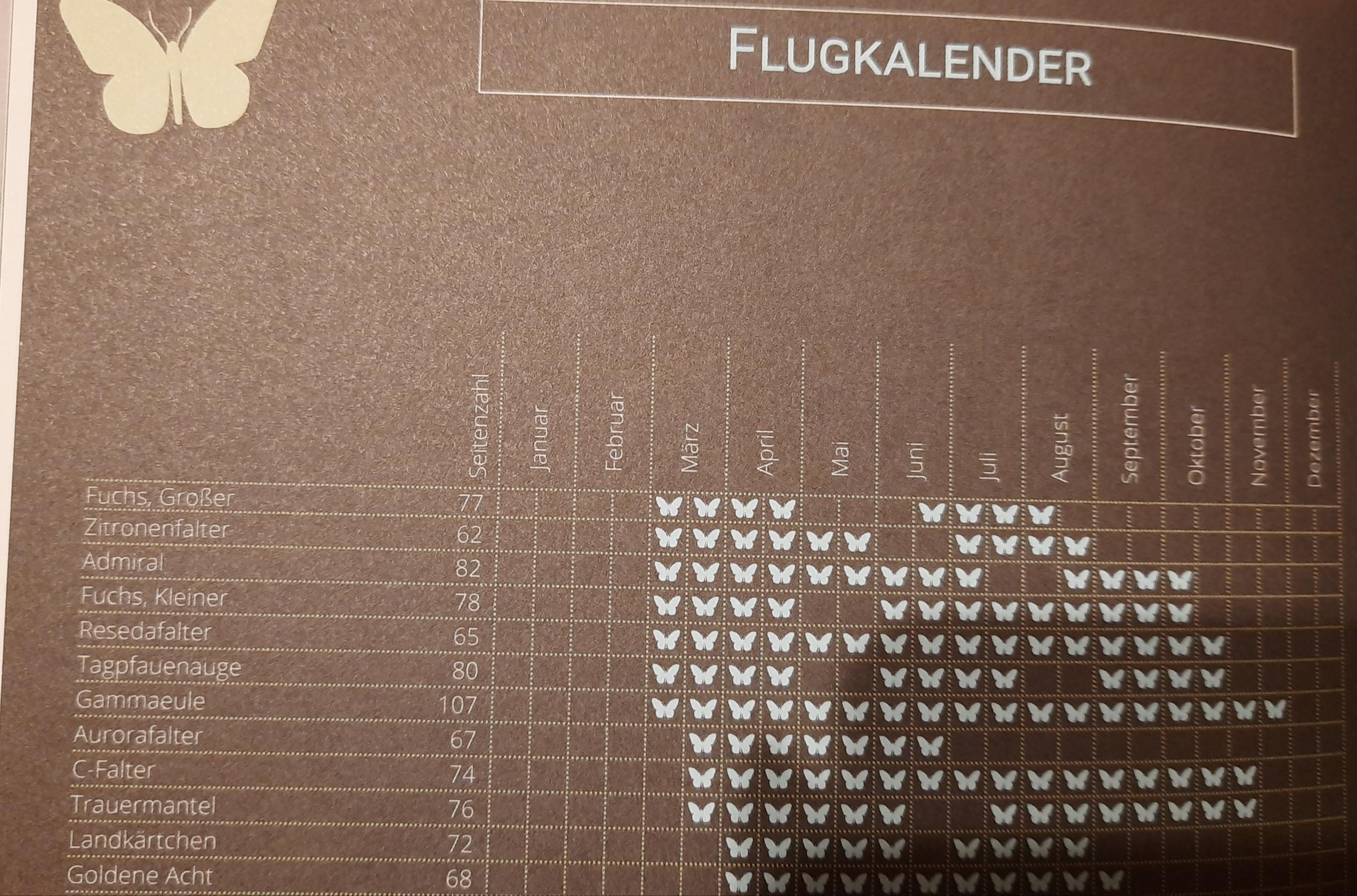 Flugkalender